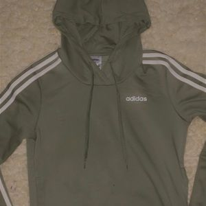 Army Green Adidas Jacket